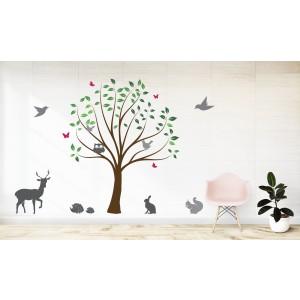 Drevo & živali
