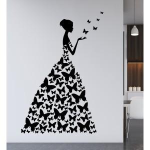 Dama z metulji