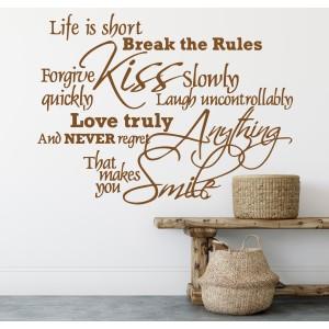 Citat life is short