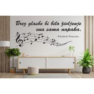 Citat brez glasbe bi bilo življenje ena sama napaka