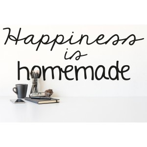 Citat happiness is homemade